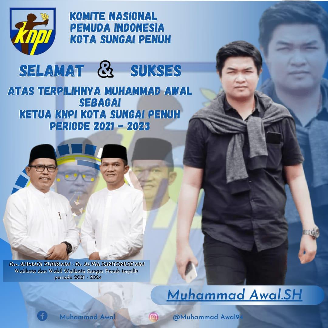 Wali Kota Terpilih dan Ketua Pemuda Muhammadiyah Sambut Baik Atas Terpilihnya Ketua KNPI Sungai Penuh